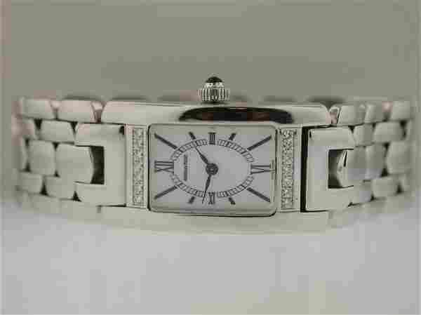 Audemars Piguet Ladies 18k White Gold Diamond Watc