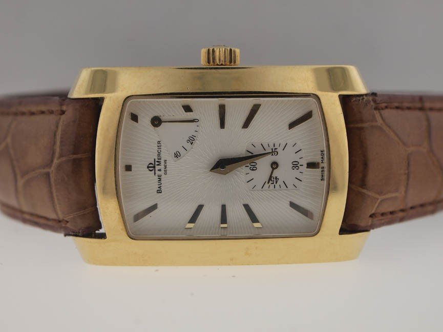 3: Baume & Mercier Mens 18k Power Reserve Watch. $9700.