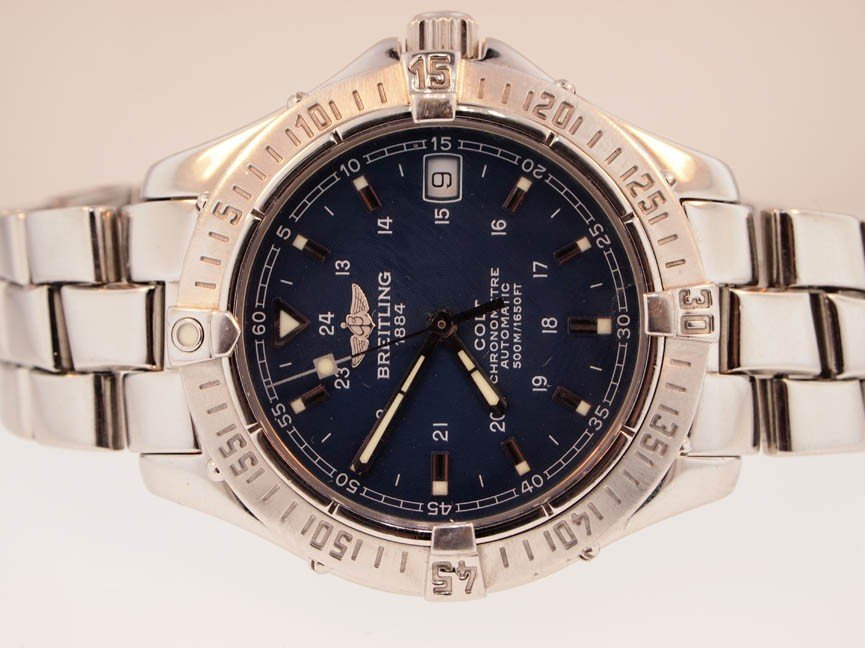 15: Breitling Mens Stainless Steel Colt. Automatic.