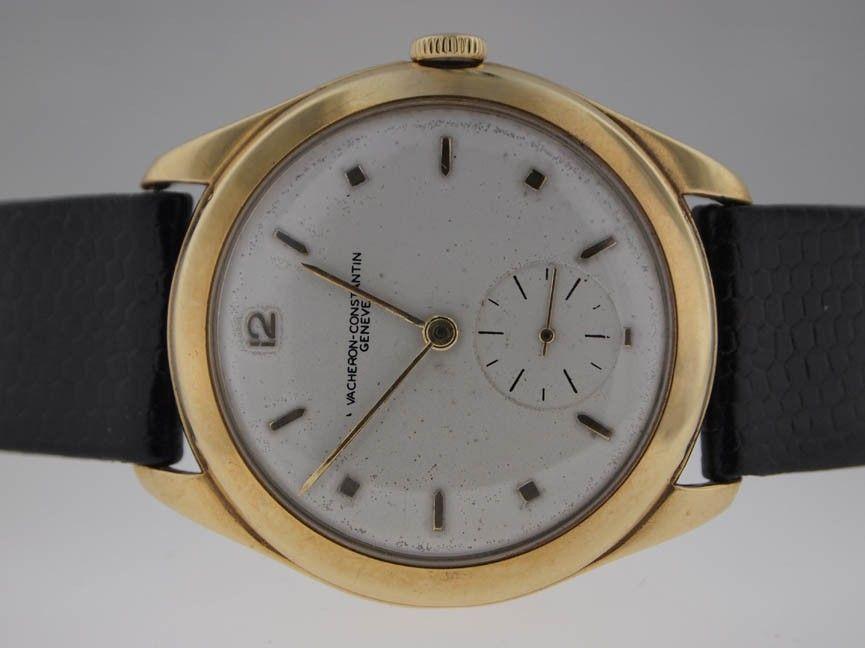 44: Vacheron & Constantin Mens 18k Vintage Watch.