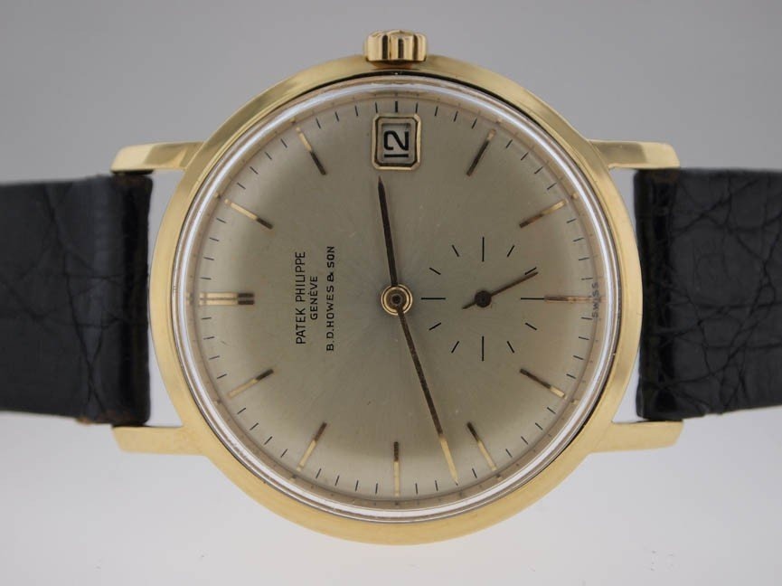 60: Patek Philippe Mens 18k Gold Vintage AUTOMATIC.