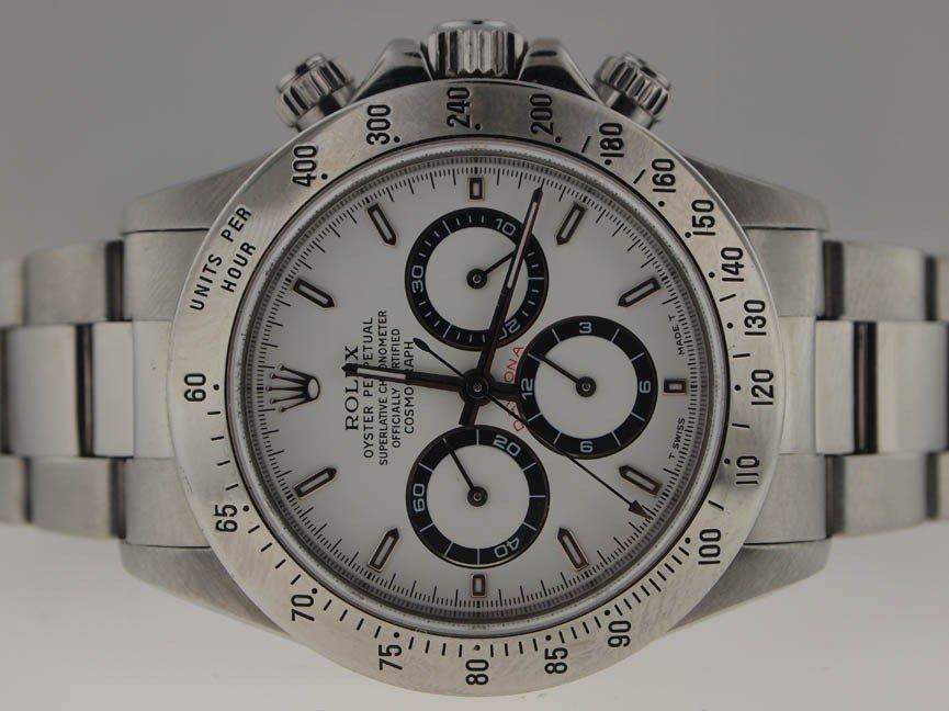 66: Rolex Mens Stainless Steel Daytona Chronograph. 199