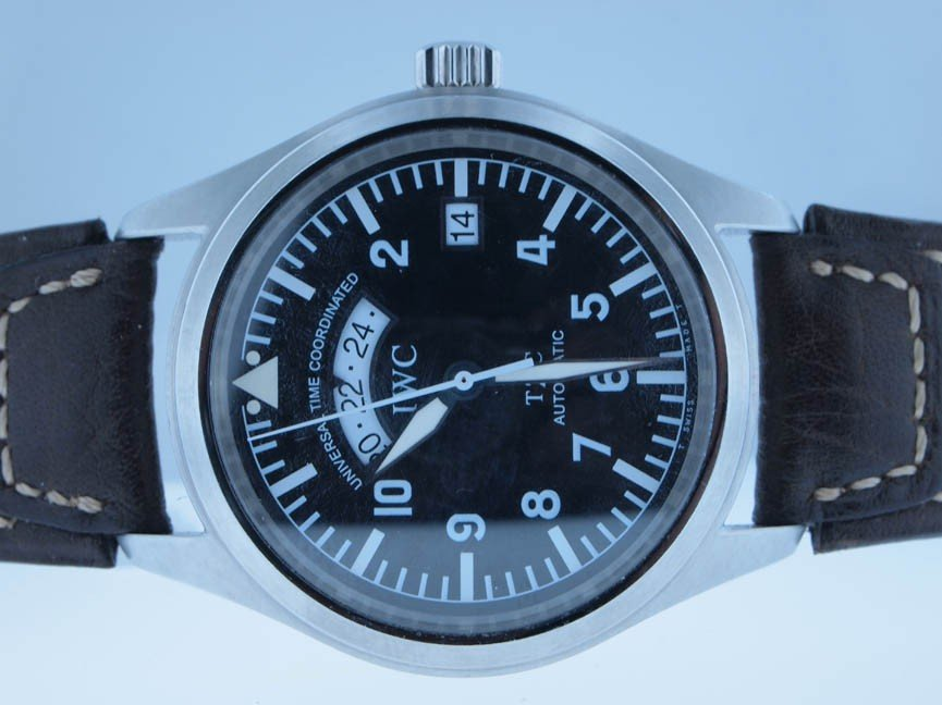 138: IWC Mens Stainless Steel Automatic.