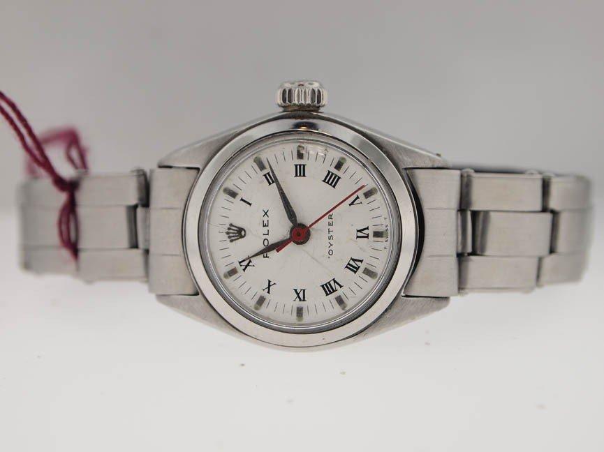 3: Rolex Ladies SS Precision. Vintage. Roman Dial.