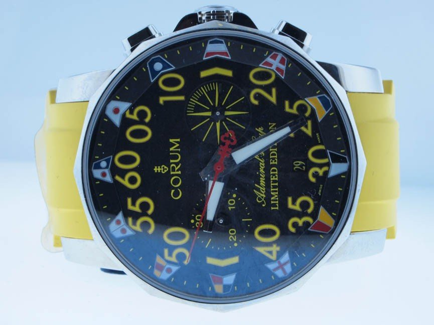 9: Corum Mens Admiral Cup. LIMITED EDITION 35/50.