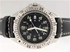 56: Breitling Mens Stainless Steel Divers Watch.
