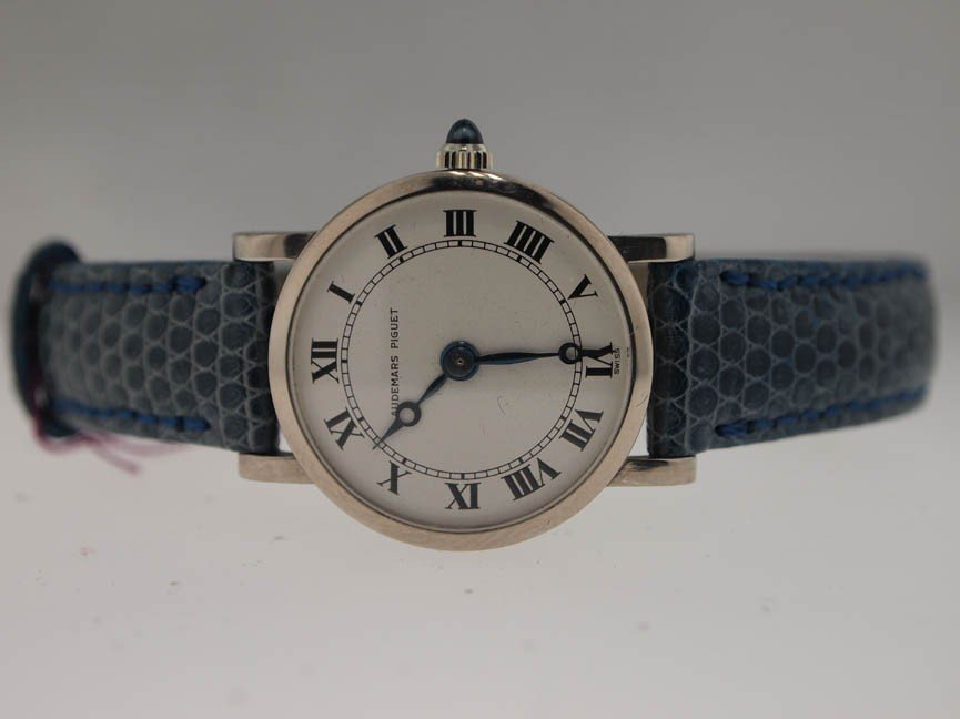 1: Audemars Piguet Ladies 18k White Gold Watch.