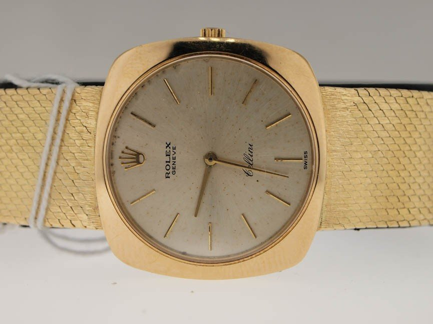 18: Rolex Mens 18k Gold Cellini. Vintage.