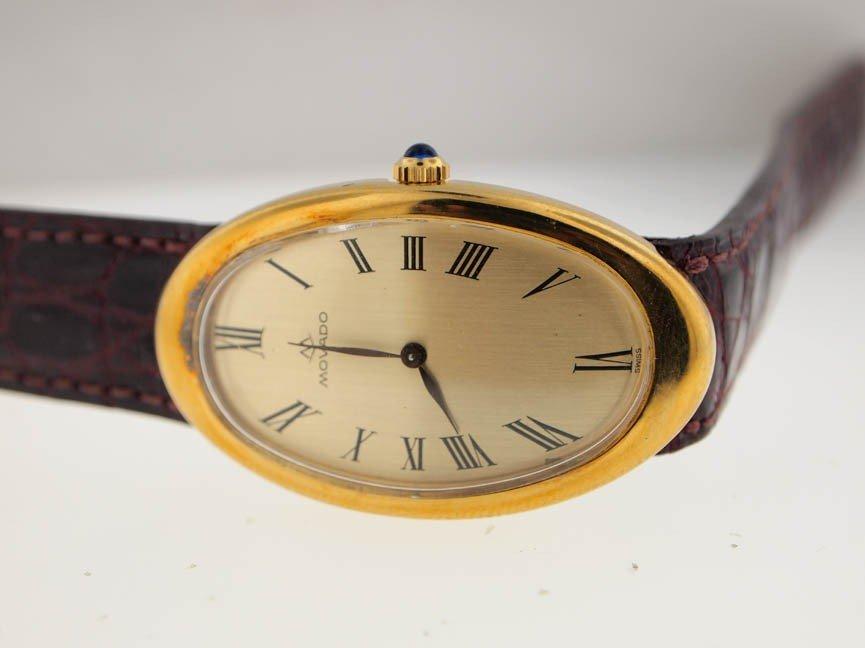 21: Movado 18k Gold Vintage Watch.