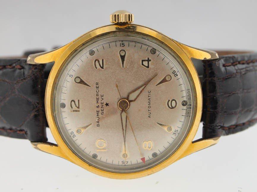 8: Baume & Mercier Mens Vintage Automatic Watch.