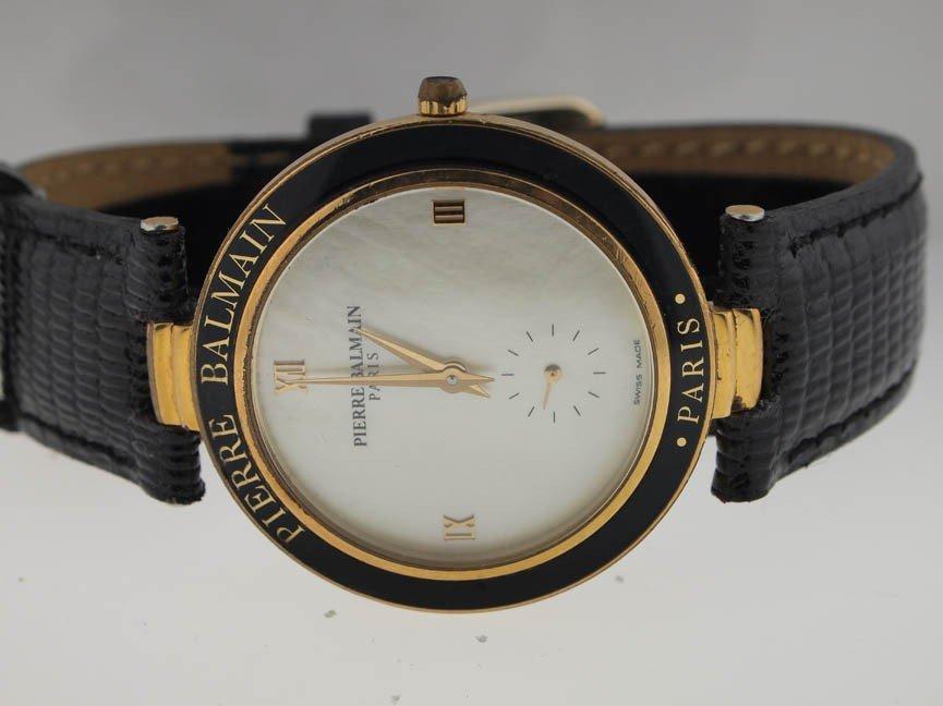 44 pierre balmain paris mens watch swiss made lot 0044 44 pierre balmain paris mens watch swiss made