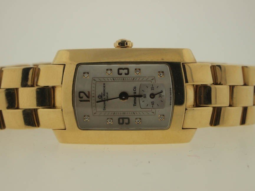 20: Baume & Mercier Ladies 18k Gold Tiffany & Co.