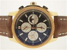 128: Breitling NEW 18k Perpetual Calendar Chrono. $56k