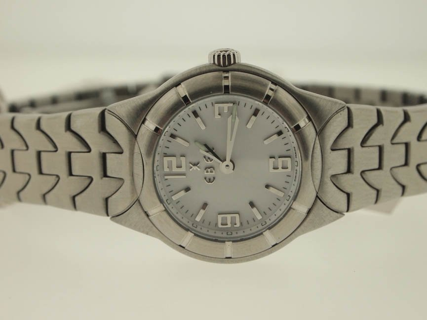 5: Ebel Ladies Stainless Steel Type E.