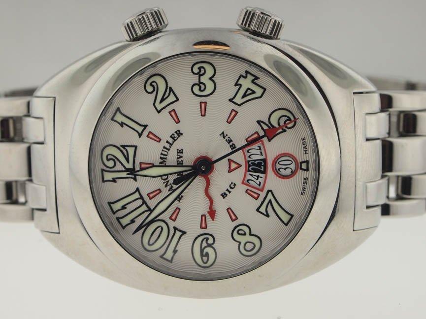 12: Franck Muller NEW SS Big Ben Alarm 39MM. $23k Retai