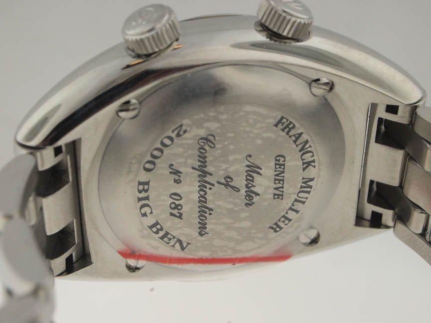 12: Franck Muller NEW SS Big Ben Alarm 39MM. $23k Retai - 3
