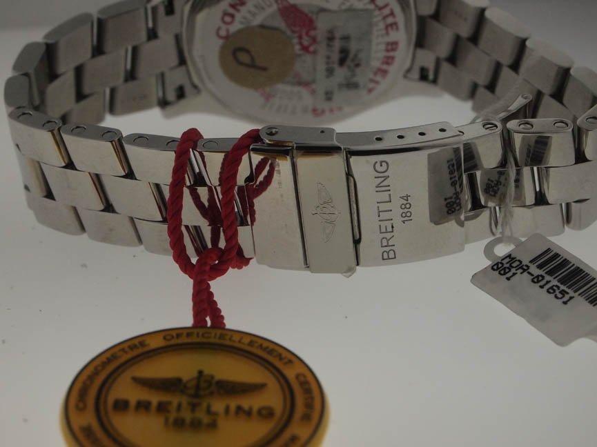 21: Breitling Mens SS Colt GMT. - 4
