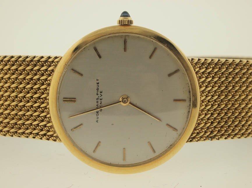 76: Audemars Piguet Mens 18k Gold Vintage Dress Watch.