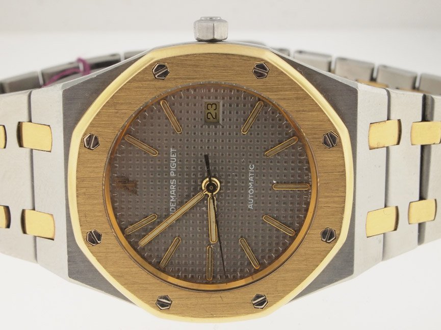 1: Audemars Mens Piguet 18k and SS 35MM Royal Oak.