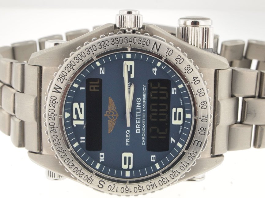 8: Breitling Mens Titanium Emergency.