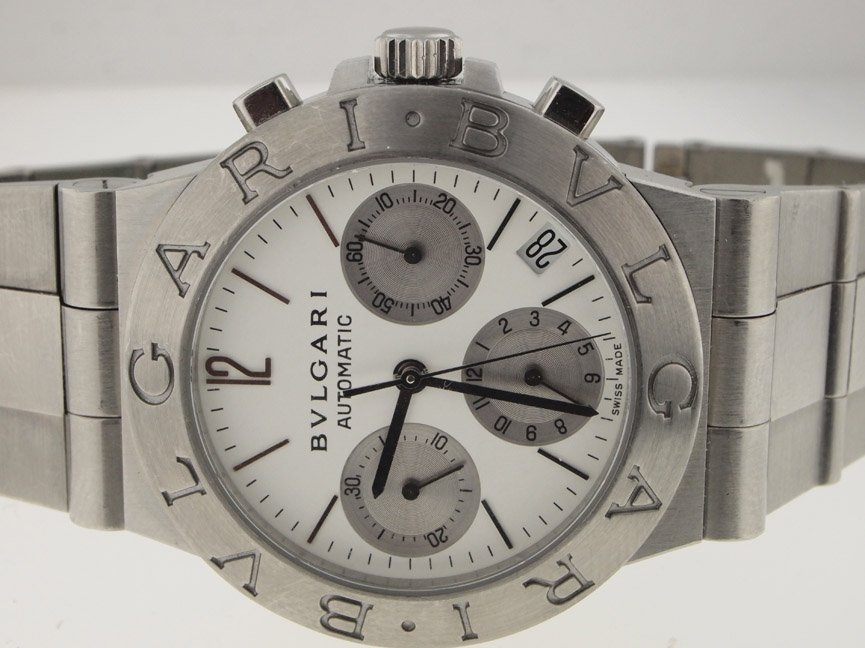 18: Bvlgari Mens SS Diagano Chronograph Automatic.