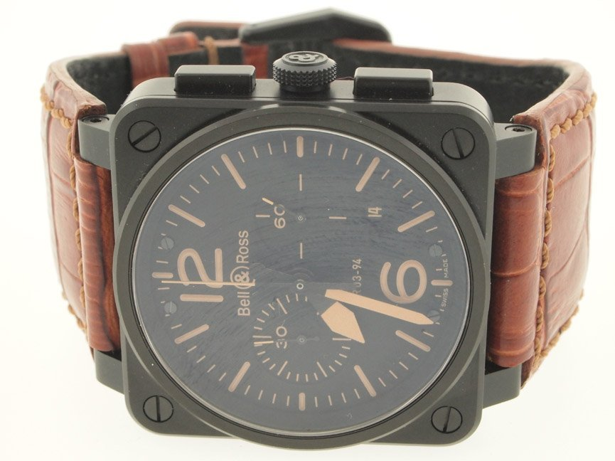Bell & Ross Mens SS Chronograph Automatic.