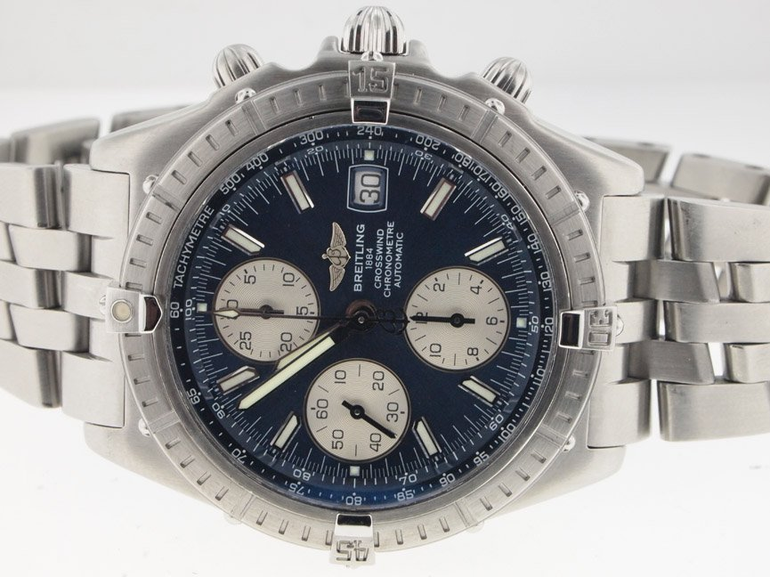 Breitling Mens SS Crosswind Chronograph Automatic.