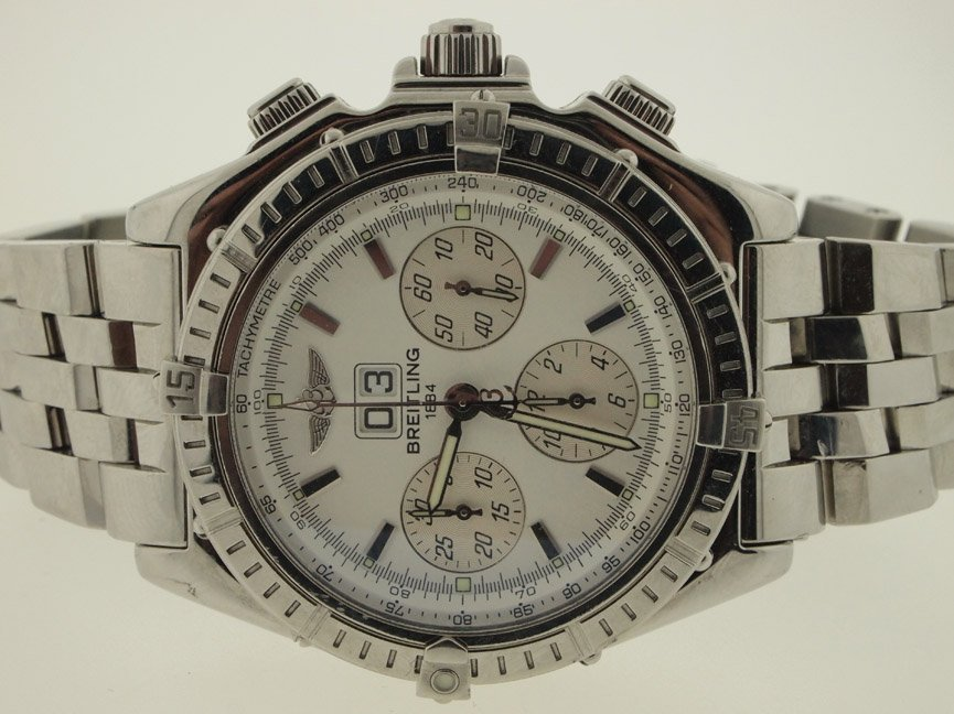 Breitling Mens SS Crosswind Special 43mm. Papers.