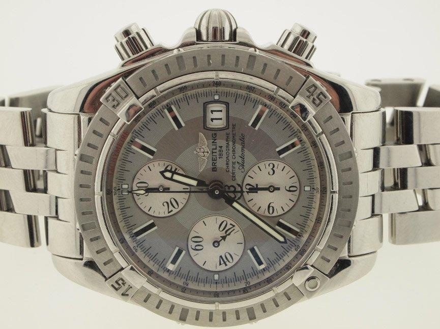 Breitling Mens SS Chronomat Evolution 43mm.