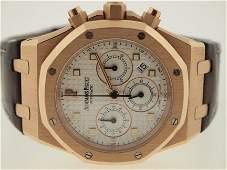 Audemars Piguet Mens 18k RG Royal Oak Offshore. $42K Re