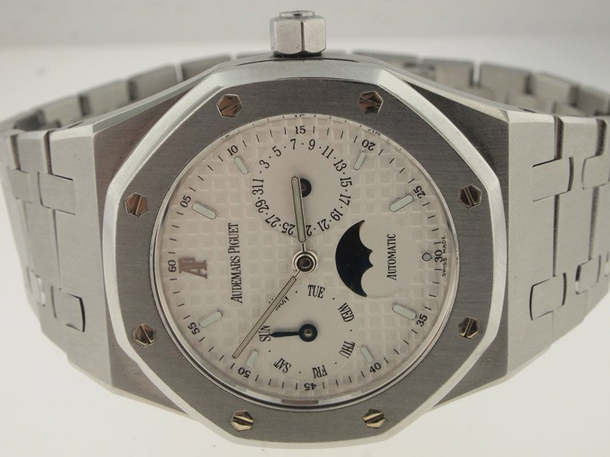 Audemars Piguet Royal Oak Day-Date Moon Phase.