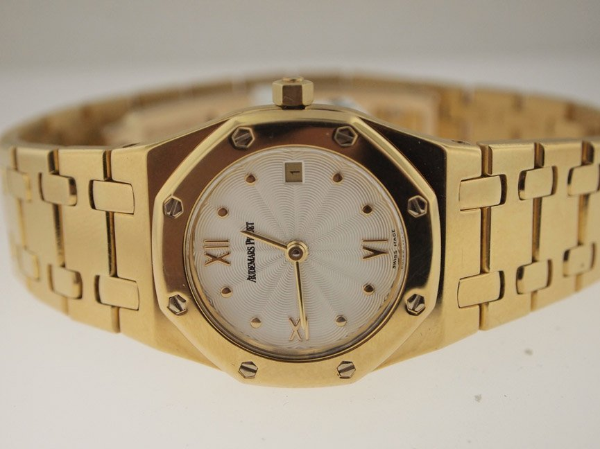 Audemars Piguet Ladies 18k Royal Oak.