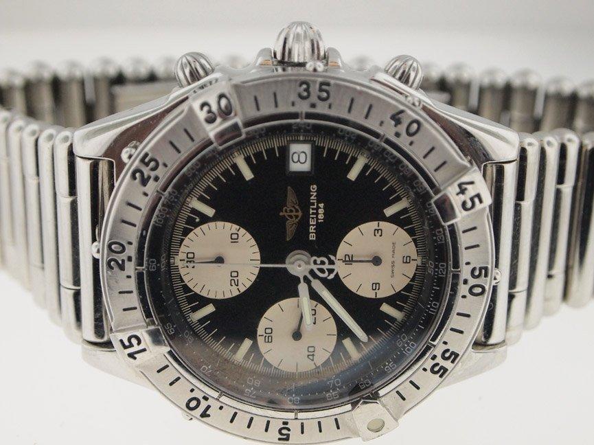 Breitling Mens SS Chronomat Bullet Bracelet.