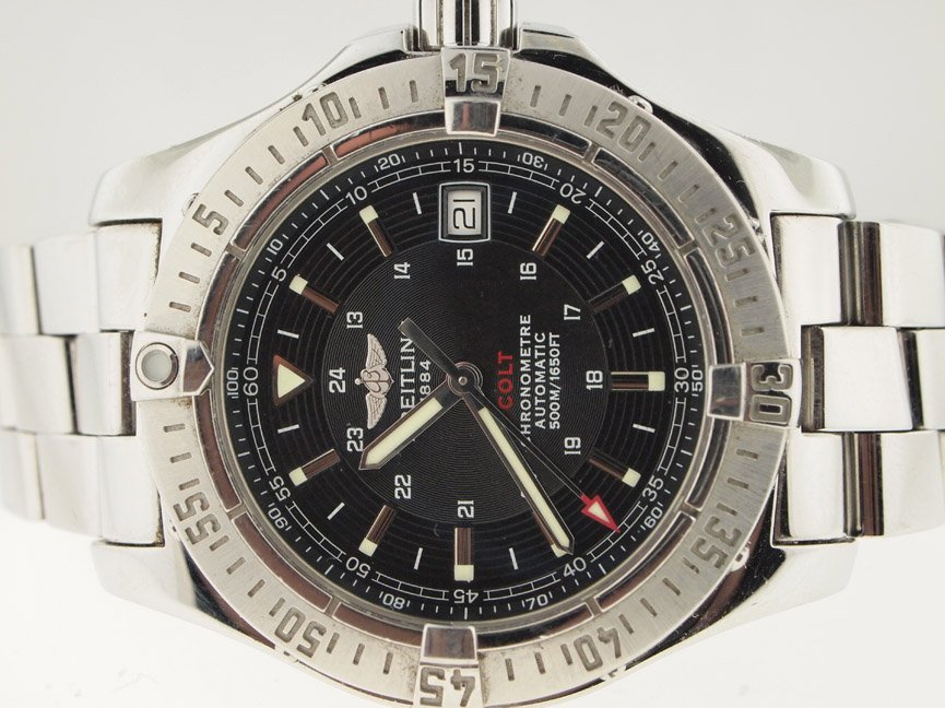 Breitling Mens SS Colt Automatic 41mm.
