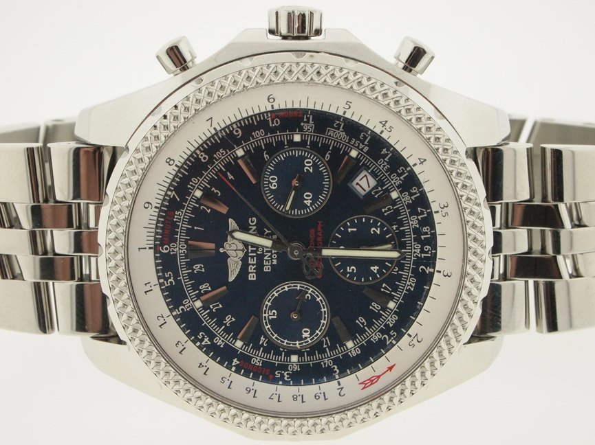 Breitling Mens SS Bentley Motors Chrono.