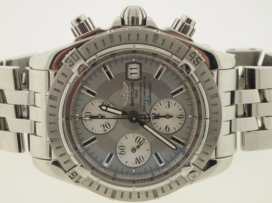 Breitling Mens SS Chronomat Evolution 43mm.