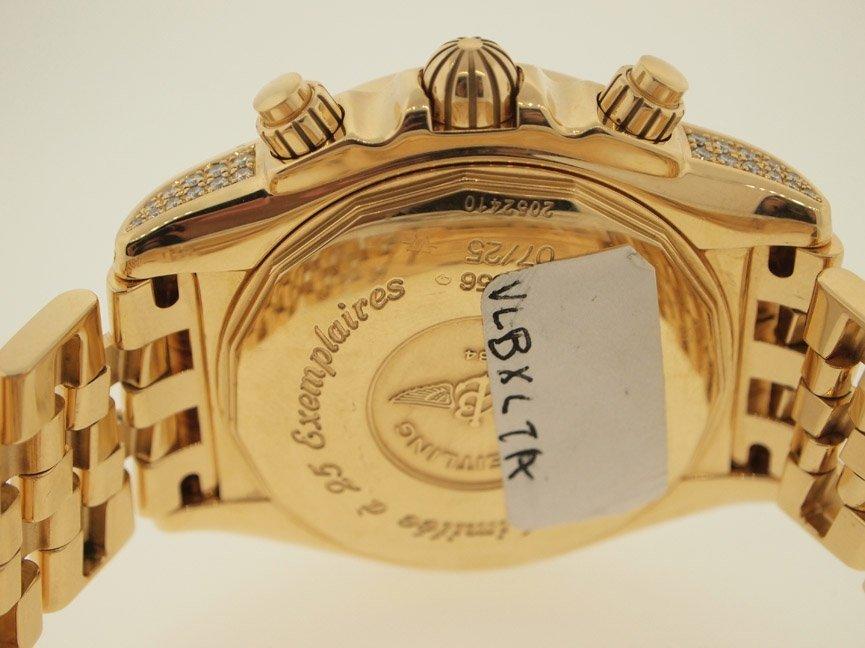 Breitling Mens 18k Evolution ALL ORIGINAL DIAMONDS.$90K - 3