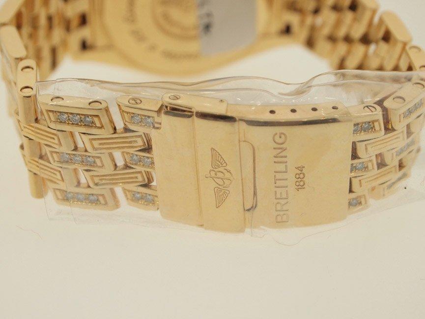 Breitling Mens 18k Evolution ALL ORIGINAL DIAMONDS.$90K - 4