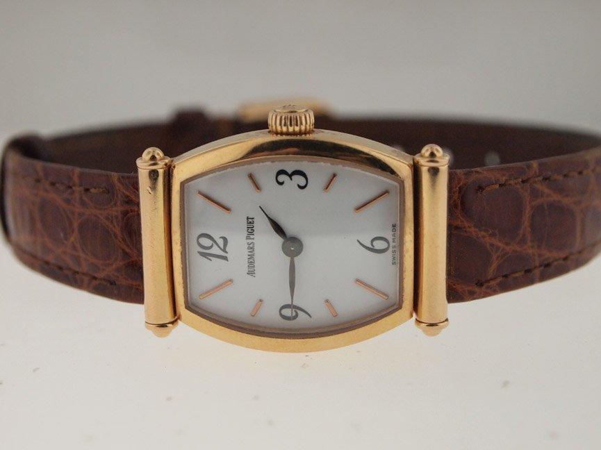 6: Audemars Piguet Ladies 18k Gold Dress Watch.