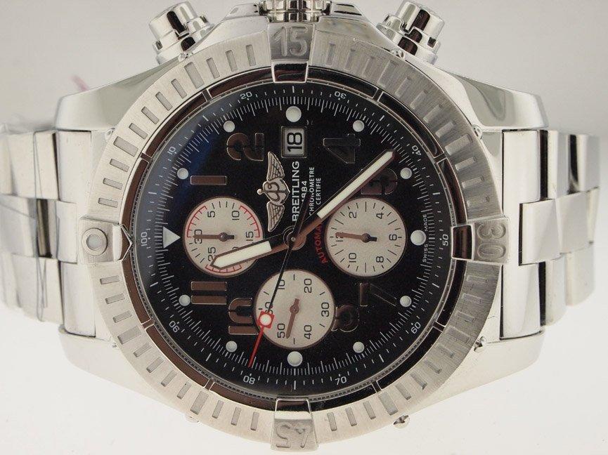 14: Breitling Mens SS Super Avenger 48MM Chronograph.