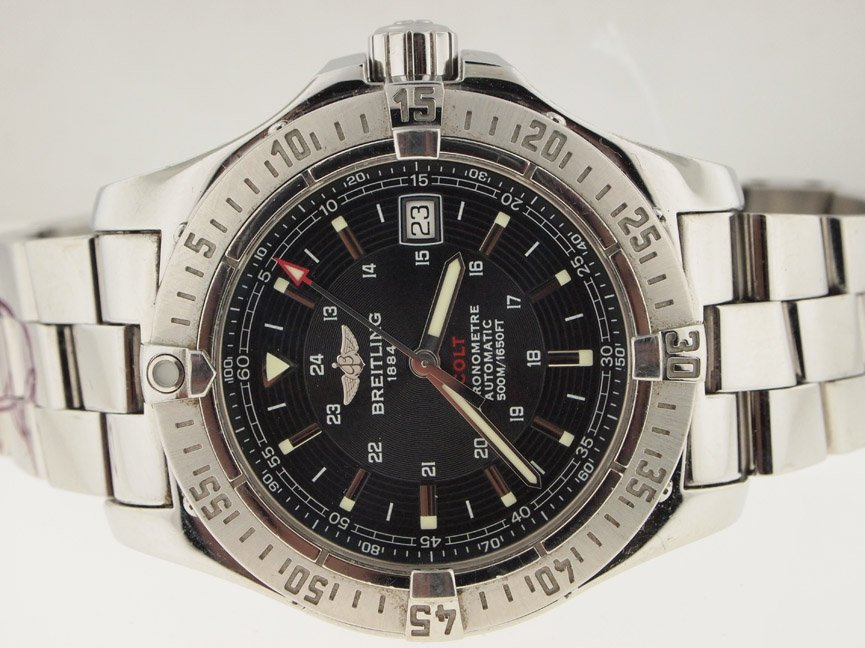 23: Breitling Mens SS Colt Automatic.
