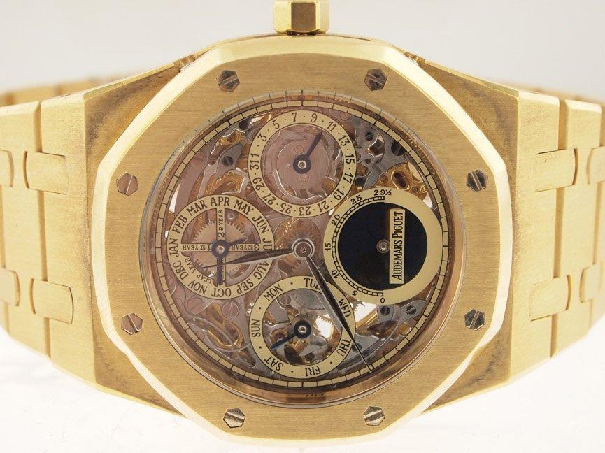Audemars Piguet 18k RG Skeleton Perpetual Calendar Moon