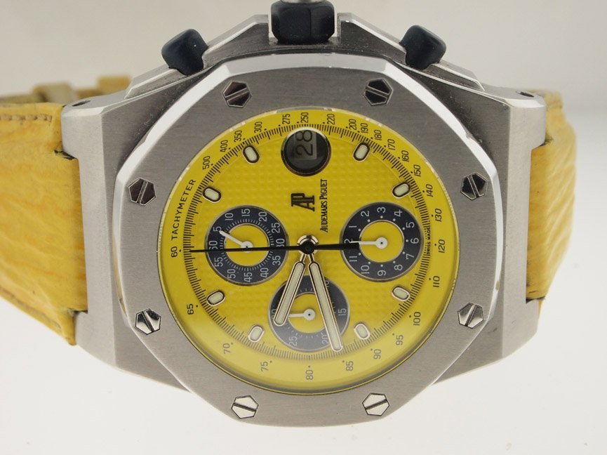 Audemars Piguet Royal Oak Offshore Chronograph Yellow.