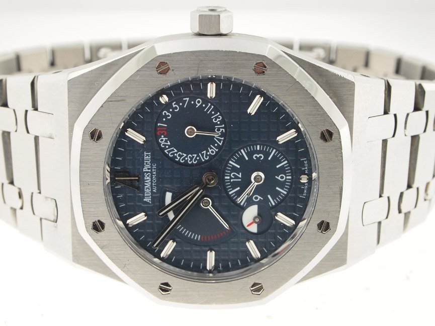 Audemars Piguet Mens SS Royal Oak Power Reserve.
