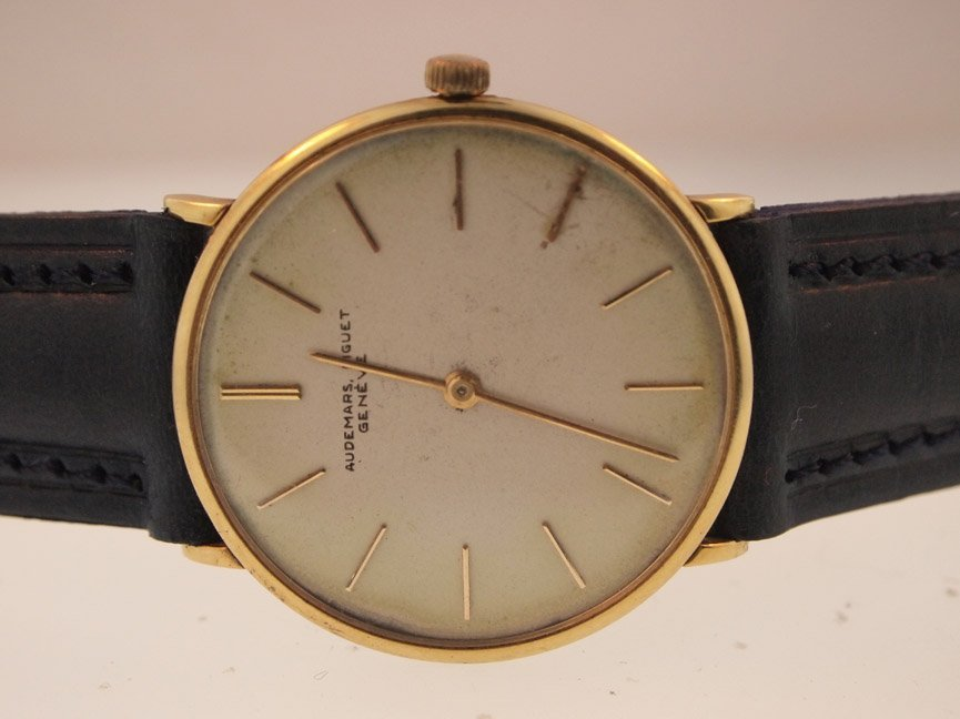 Audemars Piguet Mens 18k Cal 2003 Movement.