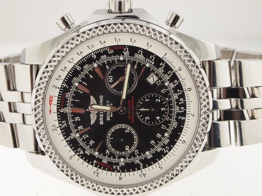 Breitling Mens SS Bentley Motors Special Edition.