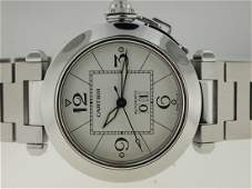 Cartier Stainless Steel Pasha C Big Date Automatic.
