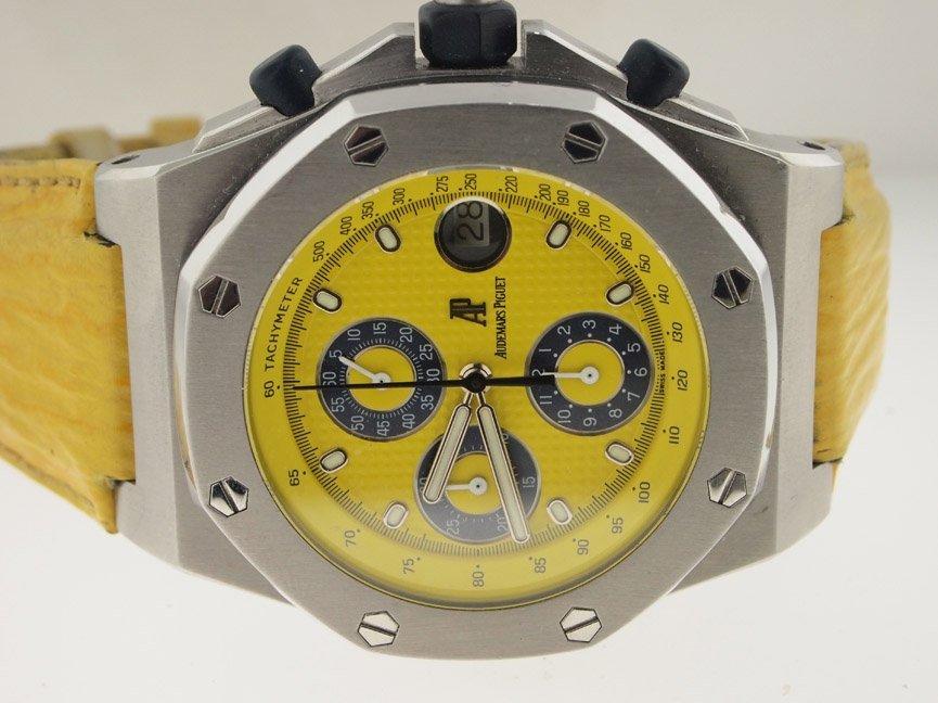 Audemars Piguet Royal Oak Offshore Chronograph Yellow.
