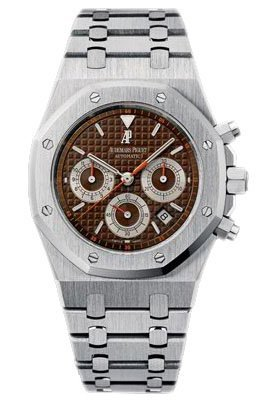 Audemars Piguet Stainless Steel Royal Oak 39mm Chronogr