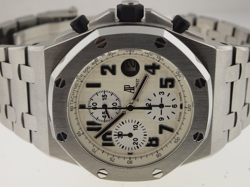 Audemars Piguet SS Royal Oak Offshore Safari.